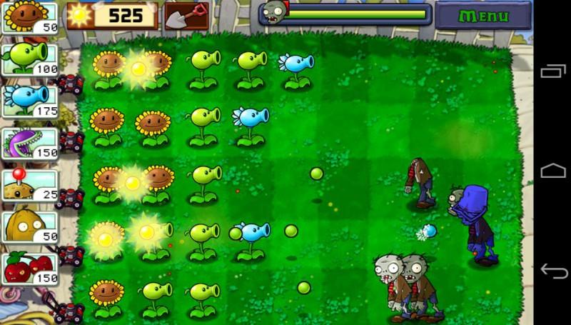 Скриншот Растений против Зомби