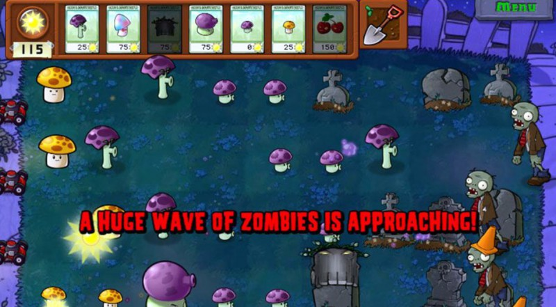 Ночные зомби атакуют