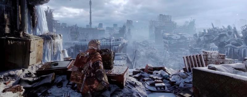 Обледенелая постапокалиптическая Москва