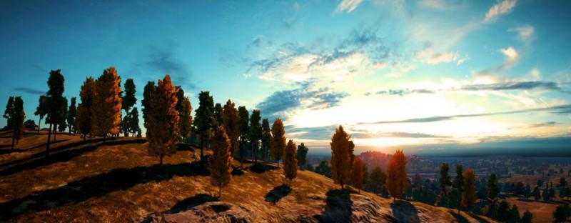 Открытый мир с красивым пейзажем