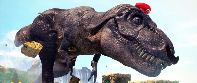 Превращение в тираннозавра