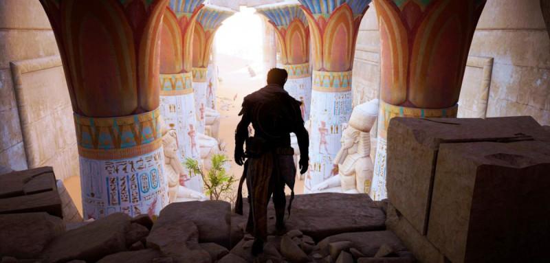Иду по гробнице к пустыне сухой, вскормленный в Египте, ассасин молодой