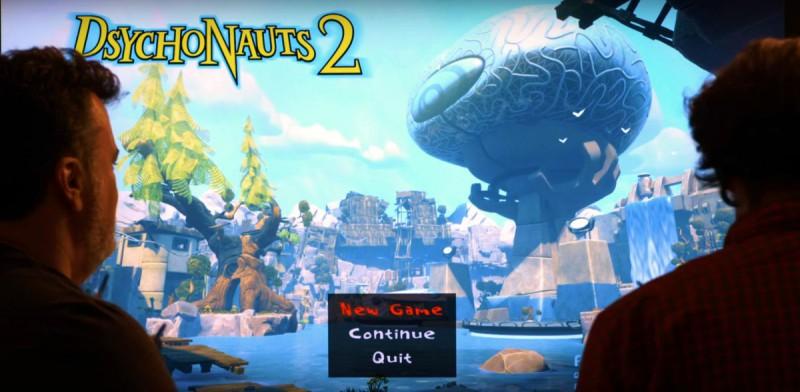 Скриншот из игры Psychonauts 2