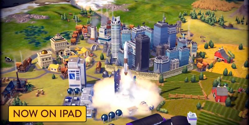 Запуск ракеты в Цивилизации 6