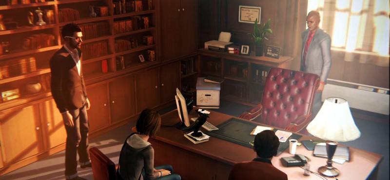 В кабинете ректора