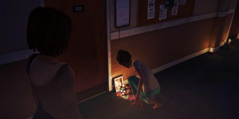 Кейт у комнаты Рэйчел