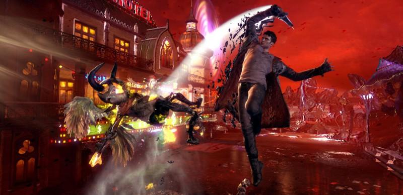 Скриншот из Devil May Cry DMC