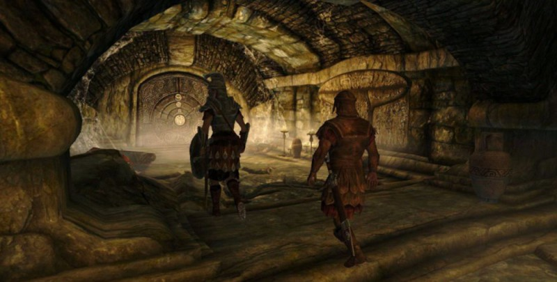 Проход в Залы руин