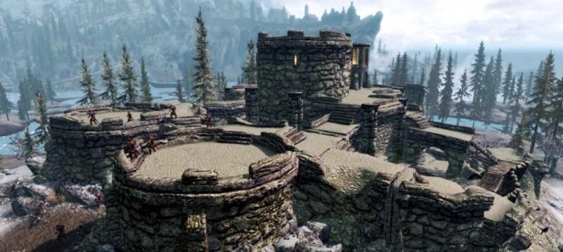 Крепость Сноухок
