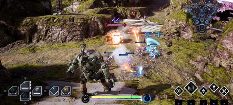 Скриншот из игры Paragon