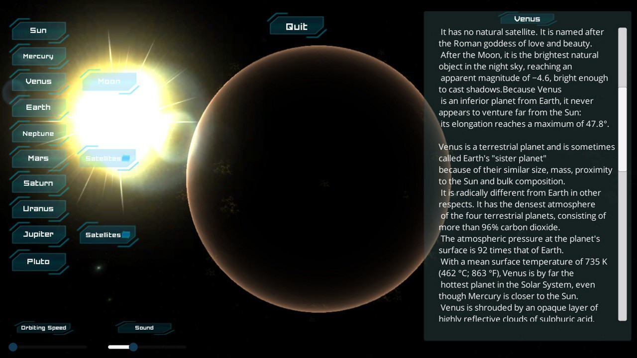 sun and its planets While the planet is larger than earth, its orbit of 290 days around a sun-like star resembles that of our world the planet's host star belongs to the same class as our sun, called g-type, although it is slightly smaller and cooler.