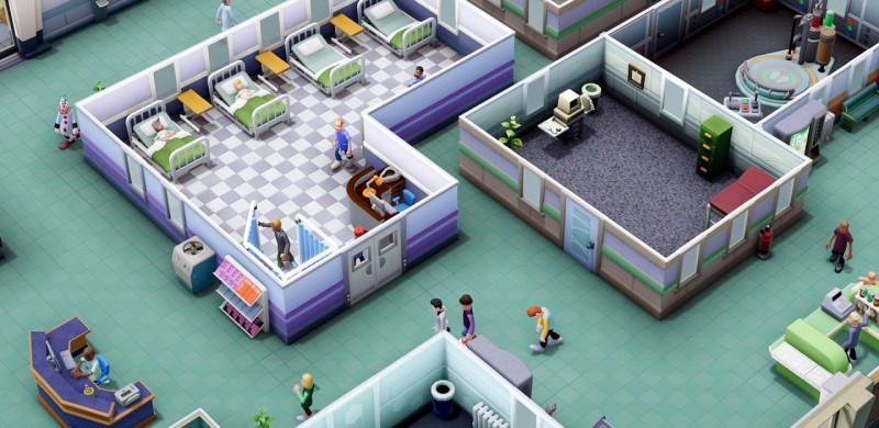 Two Point Hospital скриншот
