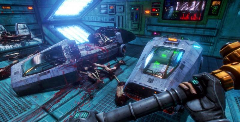 Скриншот System Shock от Nightdive
