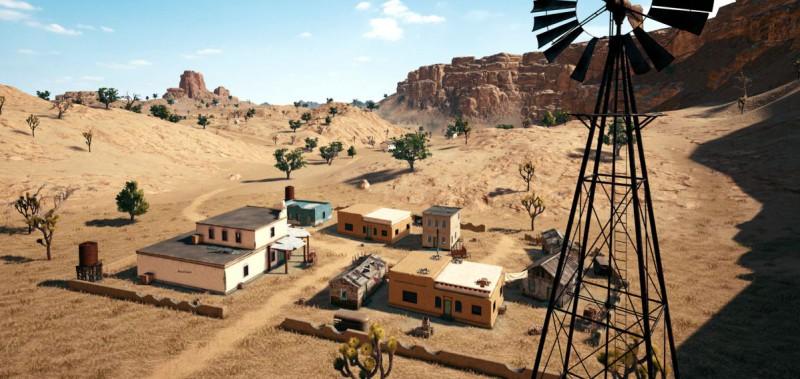 Пустыня в PUBG