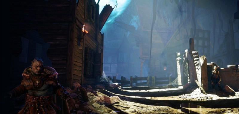 Скриншот из игры The Bard's Tale 4