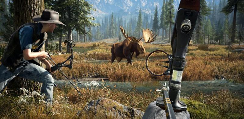Охота на лося в дикой природе
