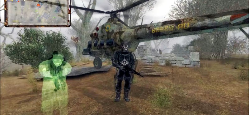 Черный Доктор и его вертолет