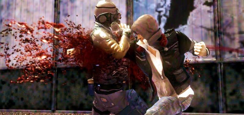 Скриншот жестокой игры