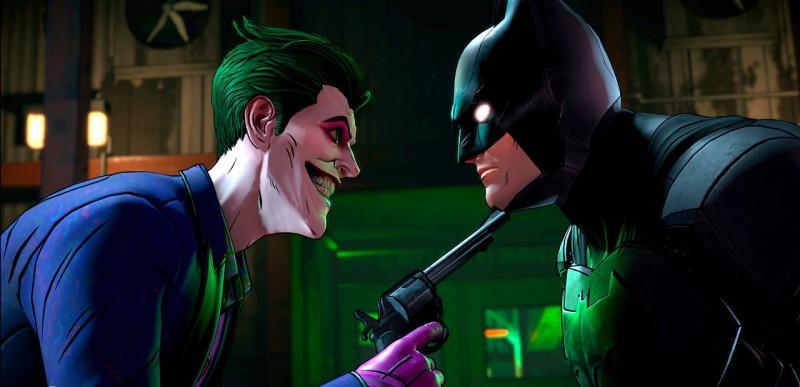 Бэтмен на мушке у Джокера