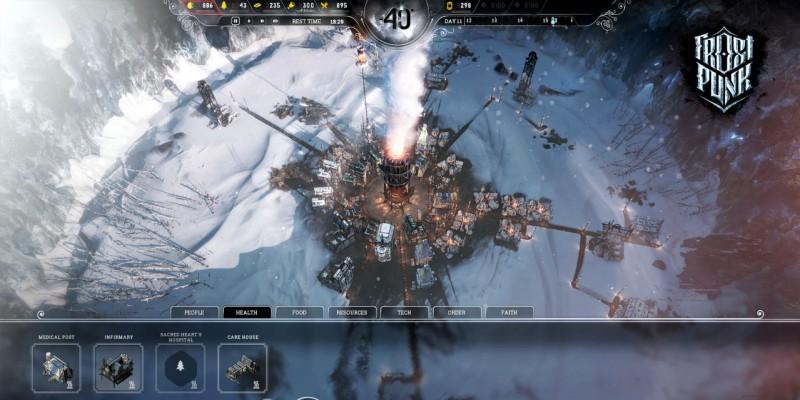 Скриншот игры Frostpunk