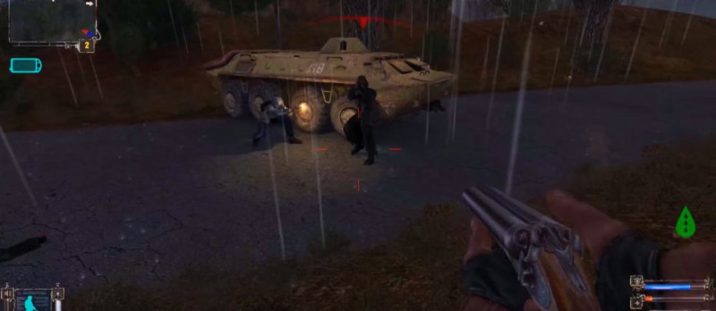 Заварушка с бандитами