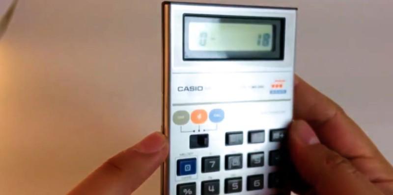 Ретро-версия игрового калькулятора