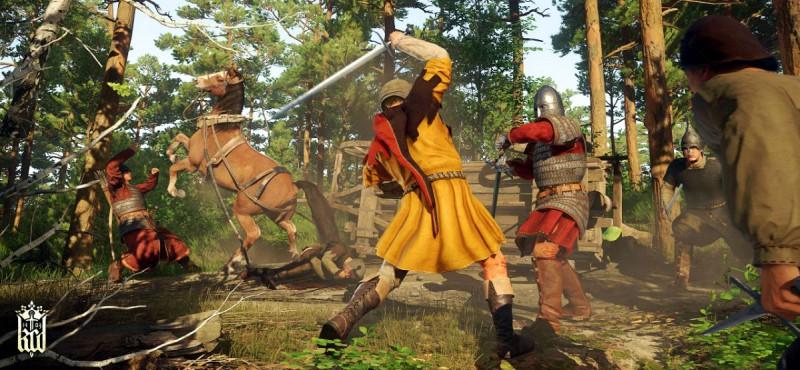 Важно ловко управляться с мечом