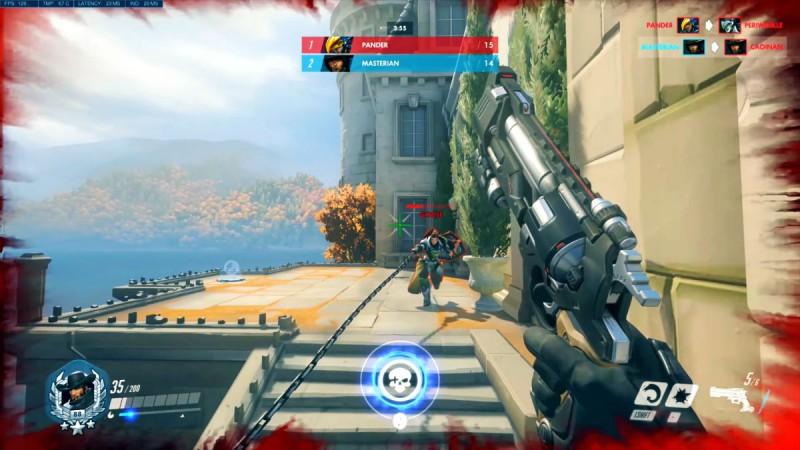 Overwatch - скриншот битвы