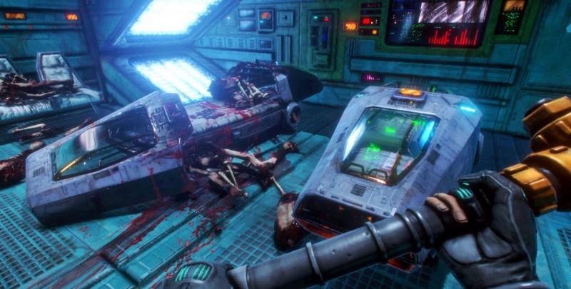 Скриншот невышедшей System Shock