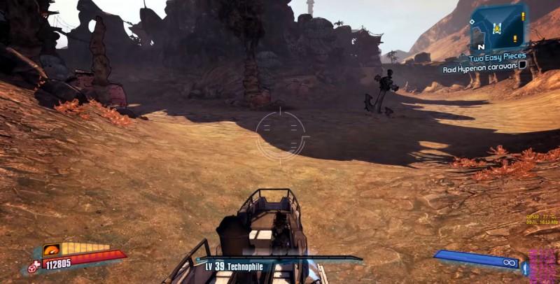 Скриншот из игры Borderlands 2