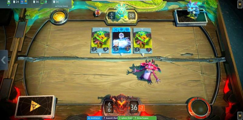 Скриншот игры Artifact