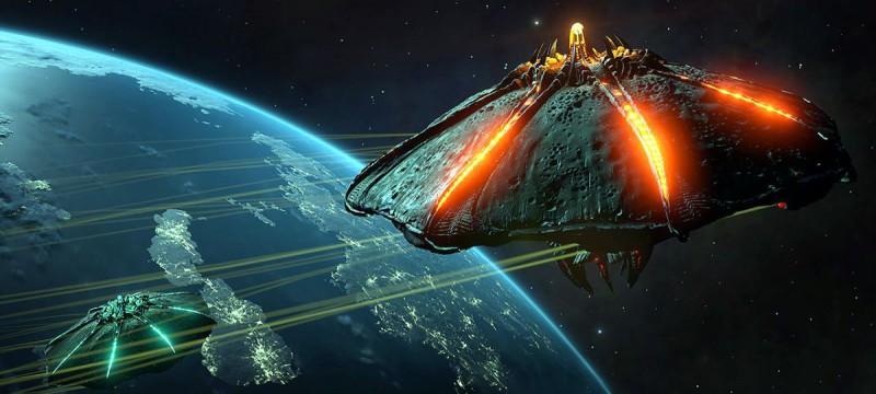 Перестрелка космических кораблей