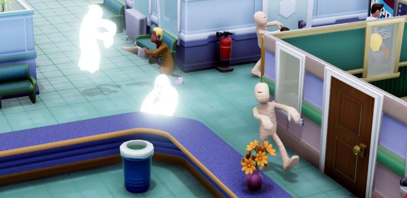 Мумии и приведения в госпитале