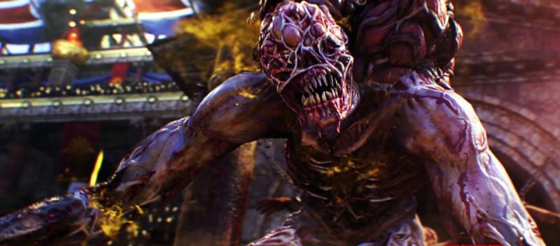 Зомби вышел страшноват