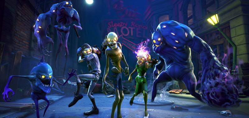 Зомби из Fortnite