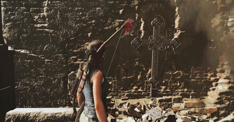 Крест перед подземельем