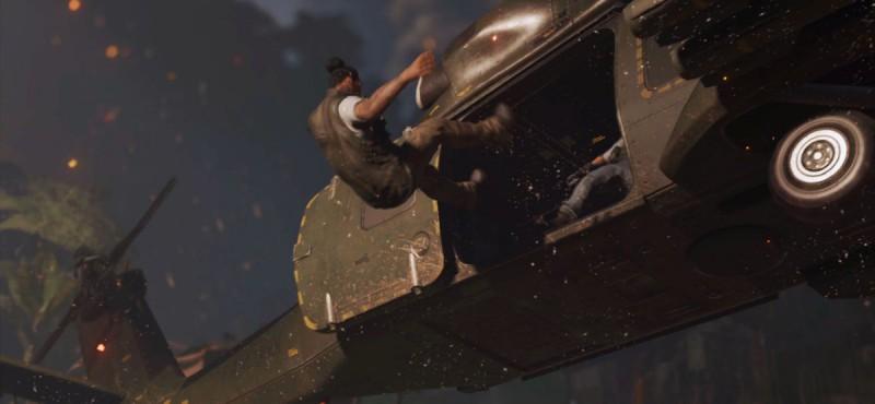 Иону выбрасывают из вертолета