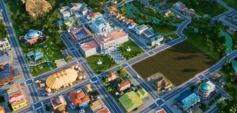 Скриншот города в Тропико 6