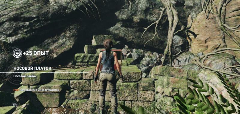 Носовой платок в Shadow of the Tomb Raider