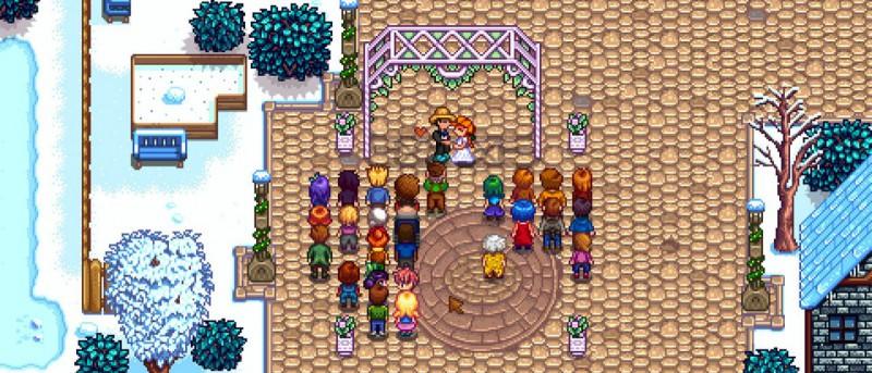 Женитьба персонажей