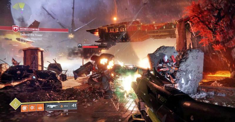Перестрелка в Destiny 2