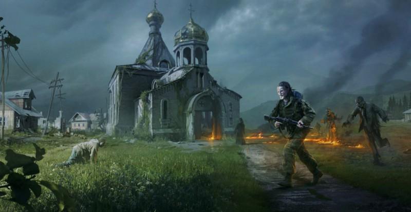 Храм и зомби