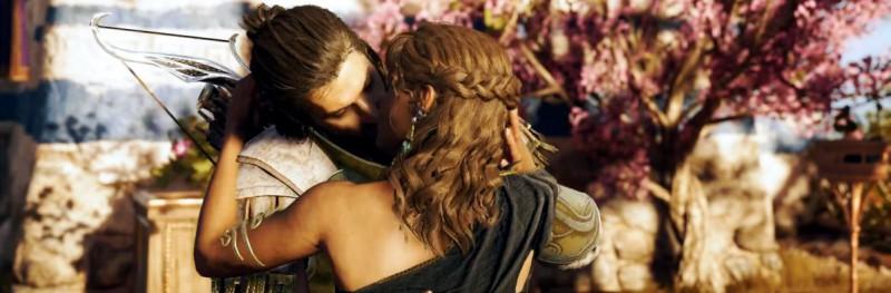 О, мойры, они целуются