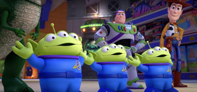 Радостные трехглазые инопланетяне