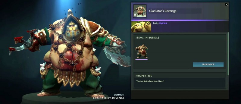Gladiator's Revenge - Dota 2
