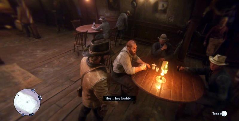 Выпиваем в баре