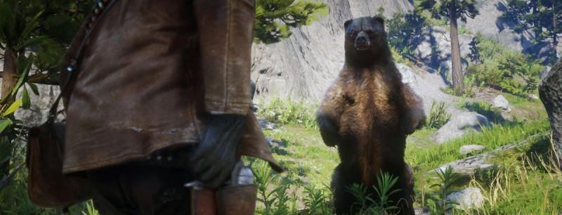 Схватка с медведем