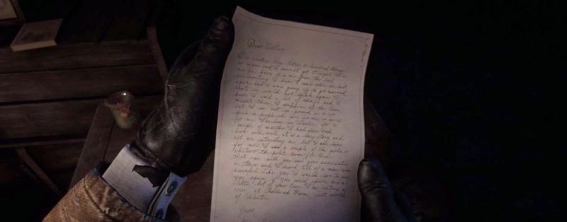 Письмо от Мэри Линтон