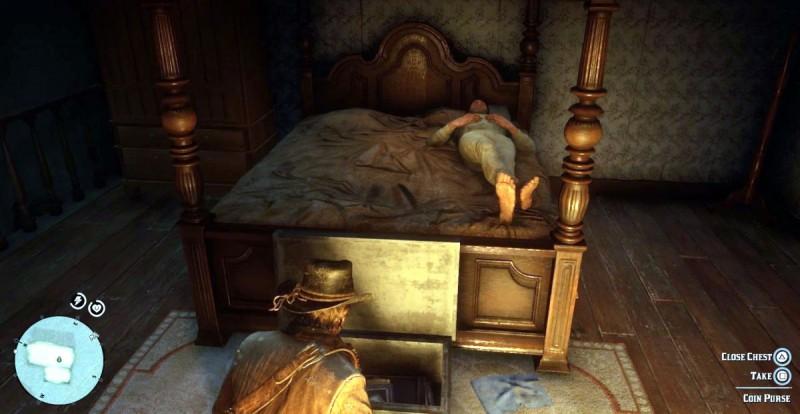 Воруем у спящих хозяев