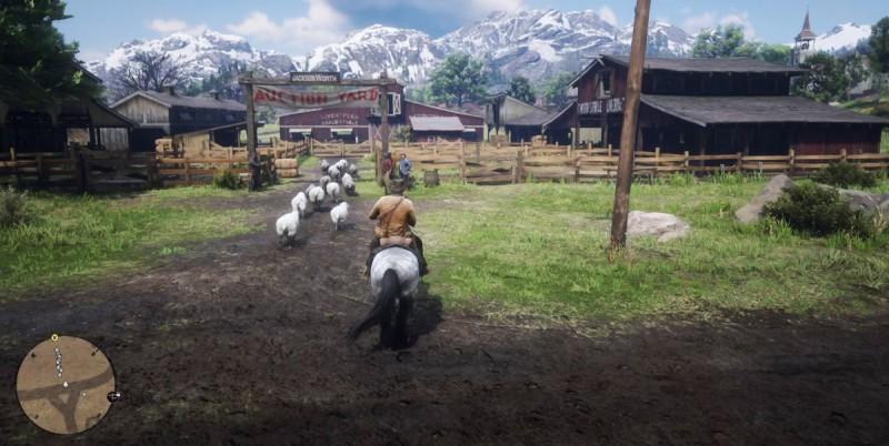 Гоним овец на аукцион